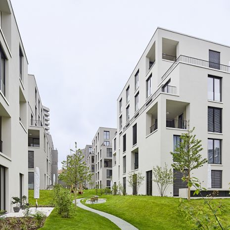 Dallmer shower channels ensure accentuated drainage in Villengarten am Relenberg, in Stuttgart