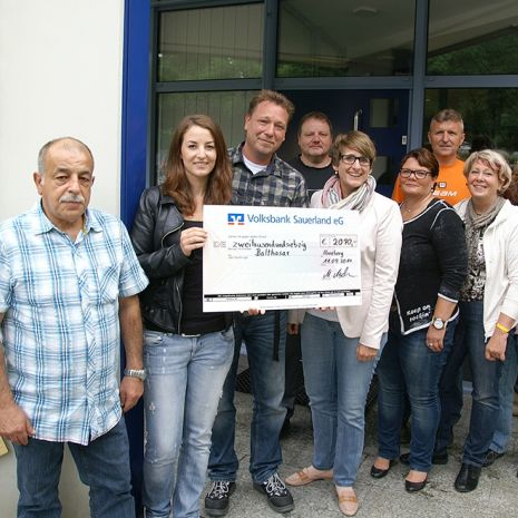 Dallmer double donation for the Balthasar Children and Young Adults' Hospice