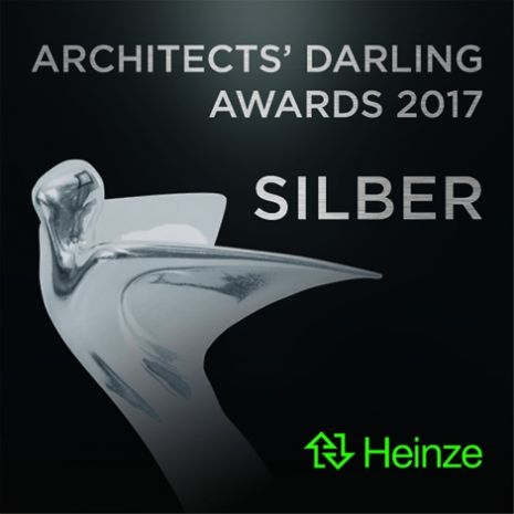 "Architects' Darling 2017 Silber für Dallmer in der Kategorie ""Bester Film Produktpräsentation"""