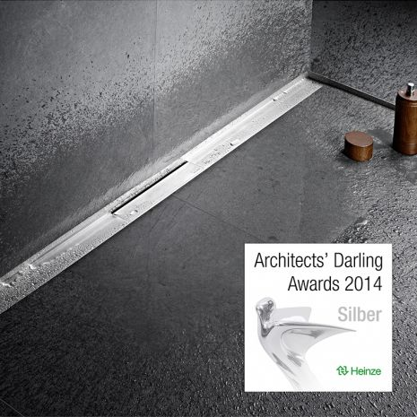 Dallmer ist  Architects' Darling 2014 -   Silber in der Kategorie 'Beste Produktinnovation'