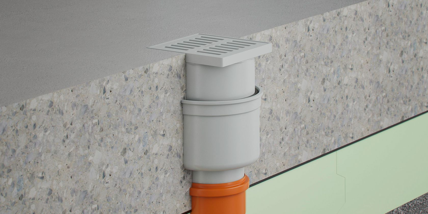 Cellar drains without anti-flooding valve