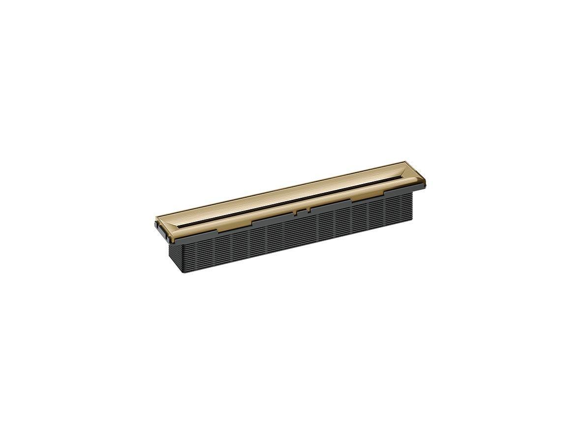 Shower Channel Zentrix Brass Matt
