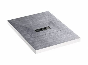 shower underlay DallFlex Compact Plan, DN 40, 0,9 x 1,2 m