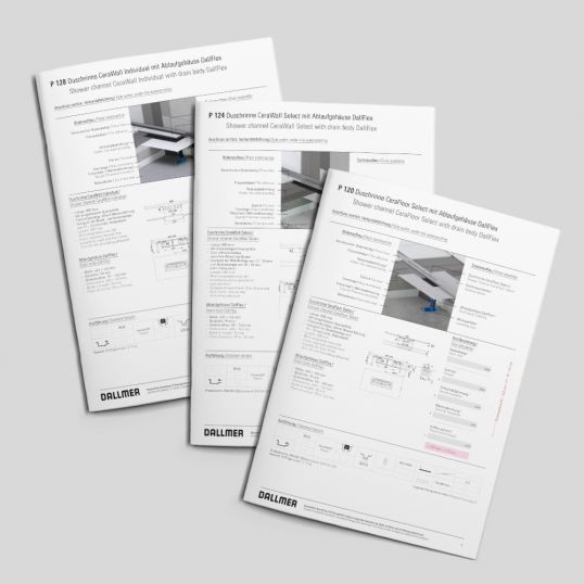 Download planning examples now and plan level-access showers in a technically competent manner